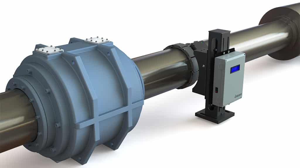 marine shaft power meter system