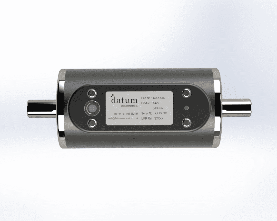 m425 rotary torque sensor and rotational torque transducer size 1