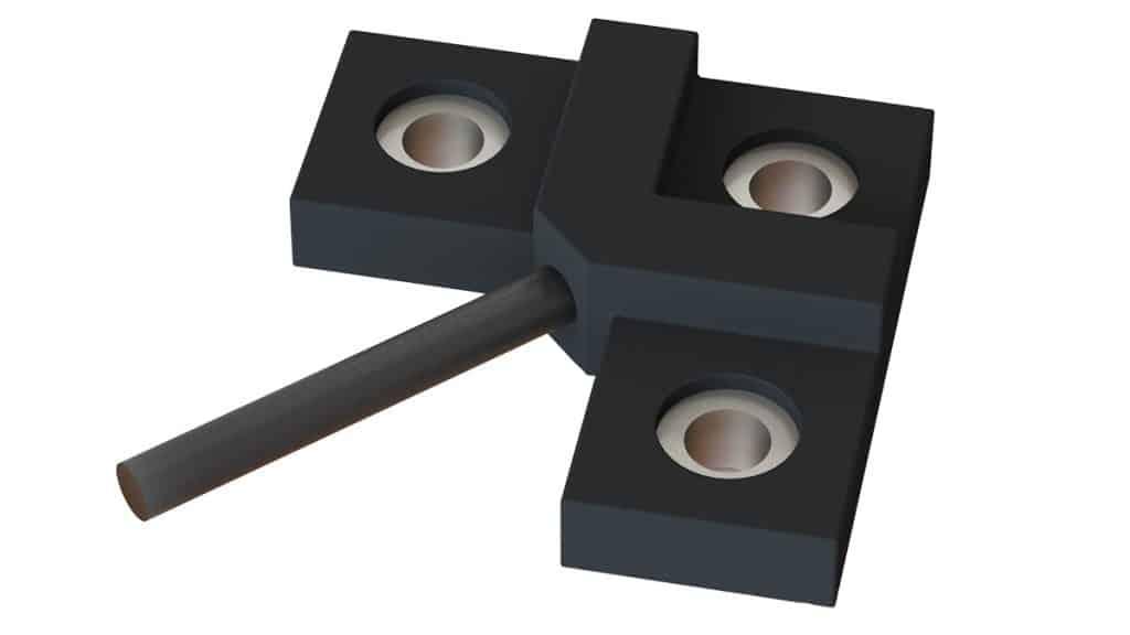3 hole bolt on strain gauge weighing sensor solution