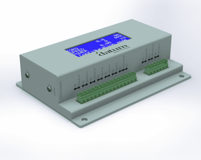 universal torque and shaft power measurement interface with USB logging